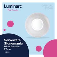 Luminarc Mangkuk Stonemania White - Saladier 27 cm - 1pcs