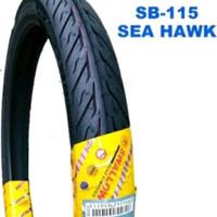 Ban Luar Motor Swallow 60 - 80 ring 17 seahawk sb115 ukuran 215 - 17
