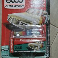 Diecast, AUTO WORLD, 1964 PLYMOUTH BARRACUDA