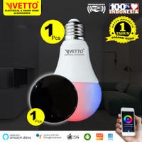 VETTO Paket Sharing - Bulb 9W (1) + IR Remote (1)