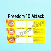 Voucher Kuota Data Indosat Freedom 10 ( Attack )