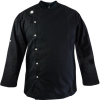 MUCHEF Chef Jacket / Baju Koki Casser Black - M