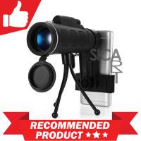 Lensa Kamera Tele Zoom HD 40X60 untuk Smartphone Android Iphone