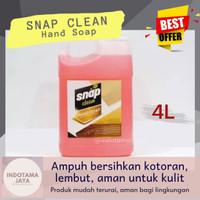 (Indotama) SNAP CLEAN Hand Soap Sabun Pencuci Tangan [4L]