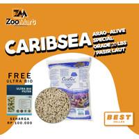 CaribSea Arag-Alive Special Grade 20 lbs / pasir laut