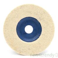 Pad Disk Roda Gerinda Poles 100mm 4 Bahan Felt