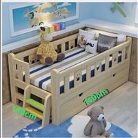 Baby box bahan kayu custom minimalis