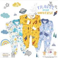 Libby Baju Kodok / Jumper Panjang Kaki Tutup / Travel Universe / NB