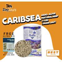 CaribSea Arag-Alive Natural Reef 20 lbs / pasir laut