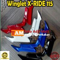 winglet X-Ride 115 laris aksesoris motor