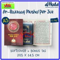 Al-Quran Mushaf 2 Warna Perjuz Ukuran Sedang A5 Ar-Razzaaq Per 1 Juz