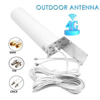 Deskripsi 4G LTE MIMO External Antenna for Modem Routers-Dual SMA-Male
