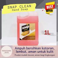 (Indotama) SNAP CLEAN Hand Soap Sabun Pencuci Tangan [1L]