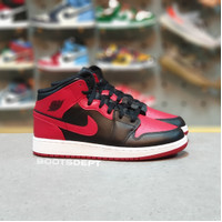 Air Jordan 1 Mid Bred Banned 2020 GS Size (100% Authentic)