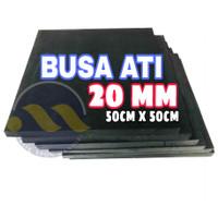 BANTALAN TARGET BUSA ATI EVA SPON 20mm *50x50cm* EVA FOAM /SPON EVA
