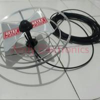 Antena TV Wajan Bolic paket kabel 10 meter