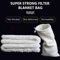 Filter Cotton Blanket Bag Untuk Sump Filter Akuarium Air Tawar Laut - 12x25cm