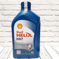 oli shell helix hx7 sae10w 40 1 liter