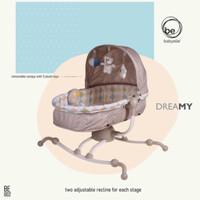 BabyElle Rocker & Bassinet 2in1/Ayunan Bayi Elektrik/Kursi Goyang bayi