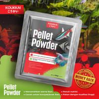 Koukkai Pellet Powder 100gr Fish Food Makanan Ikan