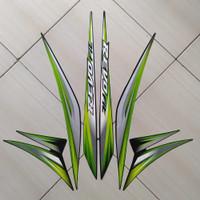 Stiker Motor Honda Revo Fit Std 2013 Hijau