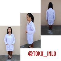 Baju Laboratorium Lengan Panjang / Baju lab Putih