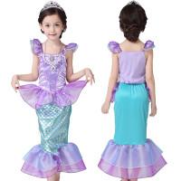 Kostum Princess Mermaid Ariel Baju Pesta Anak Dress Pesta Putri Duyung