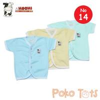 Hachi Baby Wear Baju Atasan Bayi Kancing Depan Lengan Pendek