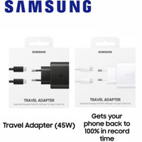ORIGINAL CHARGER SAMSUNG 45W SUPER FAST CHARGING NOTE 10 plus 45 watt
