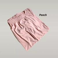 Yuki pants celana strech pinggang karet