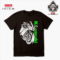 Kaos Baju Motor Kawasaki Ninja 250 FI Vector Kaos Otomotif - Karimake