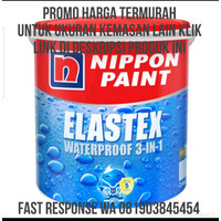 PROMO WATERPROOFING ELASTEX 4KG SETARA NO DROP AQUAPROOF TERMURAH