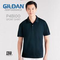Kaos Jersey Polo Sport Shirt GILDAN Performance P4BI00 Import Original