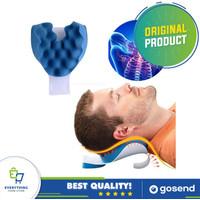 Bantal Terapi Pijat Tulang Leher   Travelling Pillow Leher Anti Pegal
