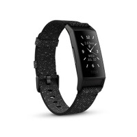 Fitbit CHARGE 4 Special Edition - Granite Reflective Woven/Black