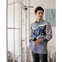 Kemeja Batik Pria | Lengan Panjang | Regular Fit | Nishikigoi