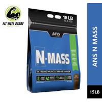 ANS N MASS Gainer 15 Lbs Serious Mass Mutant King MAss N-MASS