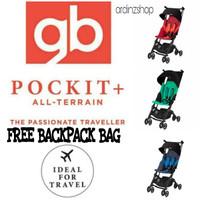 Stroller GB Pockit+ 2018 free backpack bag