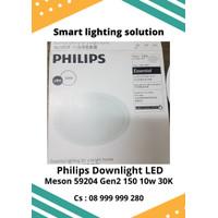 PHILIPS Downlight LED Meson 59204 10w 150 30K - Cahaya Kuning . 15cm