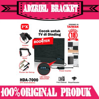 Antene Tv Digital Analog PX HDA 7000 Booster Indoor Led Bar