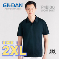 Dry Fit Polo Size XXL / 2XL GILDAN Performance P4BI00 Sport Shirt