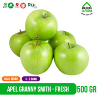 Buah Apel Hijau Granny Smith Import Segar 500g