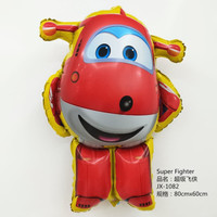 Balon foil karakter Super Wings Jumbo 80 cm / super wing