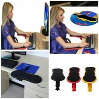 Computer Arm Support - Rest Pad - Penahan Lengan di Meja Komputer