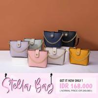 Jims Honey Stella Woman Sling Bag Tas Selempang Wanita Import JH Ori - Pink