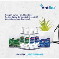 Souvenir Pernikahan / Ulang Tahun Unik Hand Sanitizer Costumize Label