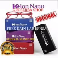 Kacamata K-Ion Nano Original Kacamata K Ion Nano Terapi - HITAM