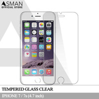 Asman Premium Tempered Glass Anti Gores for Apple iPhone 7 - Clear