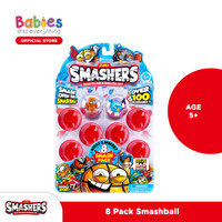 Zuru Smashers 8Pk Smash Ball (Assorted Colour)