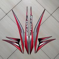 Stiker Motor Honda Revo Fit Std 2013 Merah